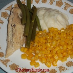 Chicken and Green Beans Dinner